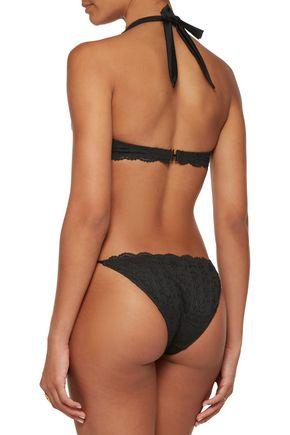 HEIDI KLUM SWIM Jetset Dreamer low-rise lace bikini briefs