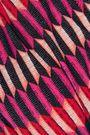 HEIDI KLUM SWIM Printed cutout bandeau bikini top