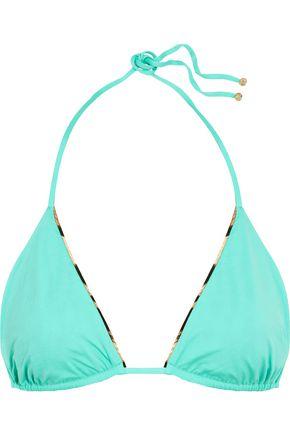 ROBERTO CAVALLI Reversible triangle bikini top