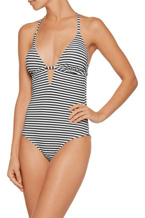 TART COLLECTIONS Hera striped swimsuit