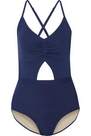 TART Karel ruched cutout swimsuit