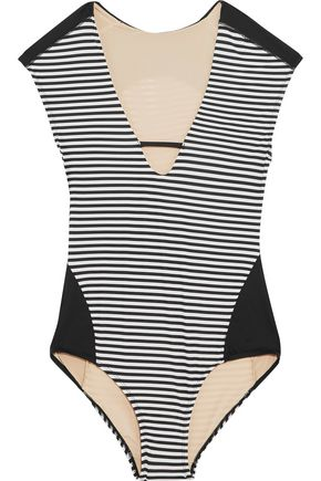 TART Deanna striped swimsuit