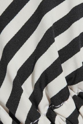 TART COLLECTIONS Iris tasseled striped triangle bikini