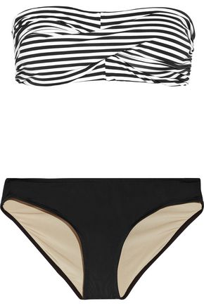 TART COLLECTIONS Charlotte striped bandeau bikini
