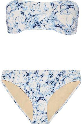 TART Charlotte printed bandeau bikini