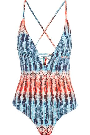 TART Hera printed swimsuit
