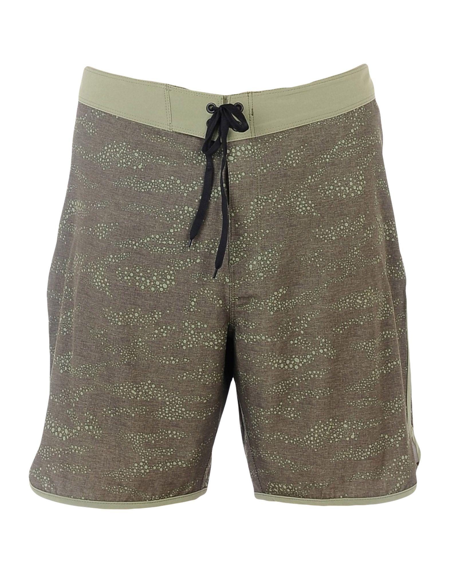 HURLEY Пляжные брюки и шорты шлепанцы hurley sample phantom sandals rifle