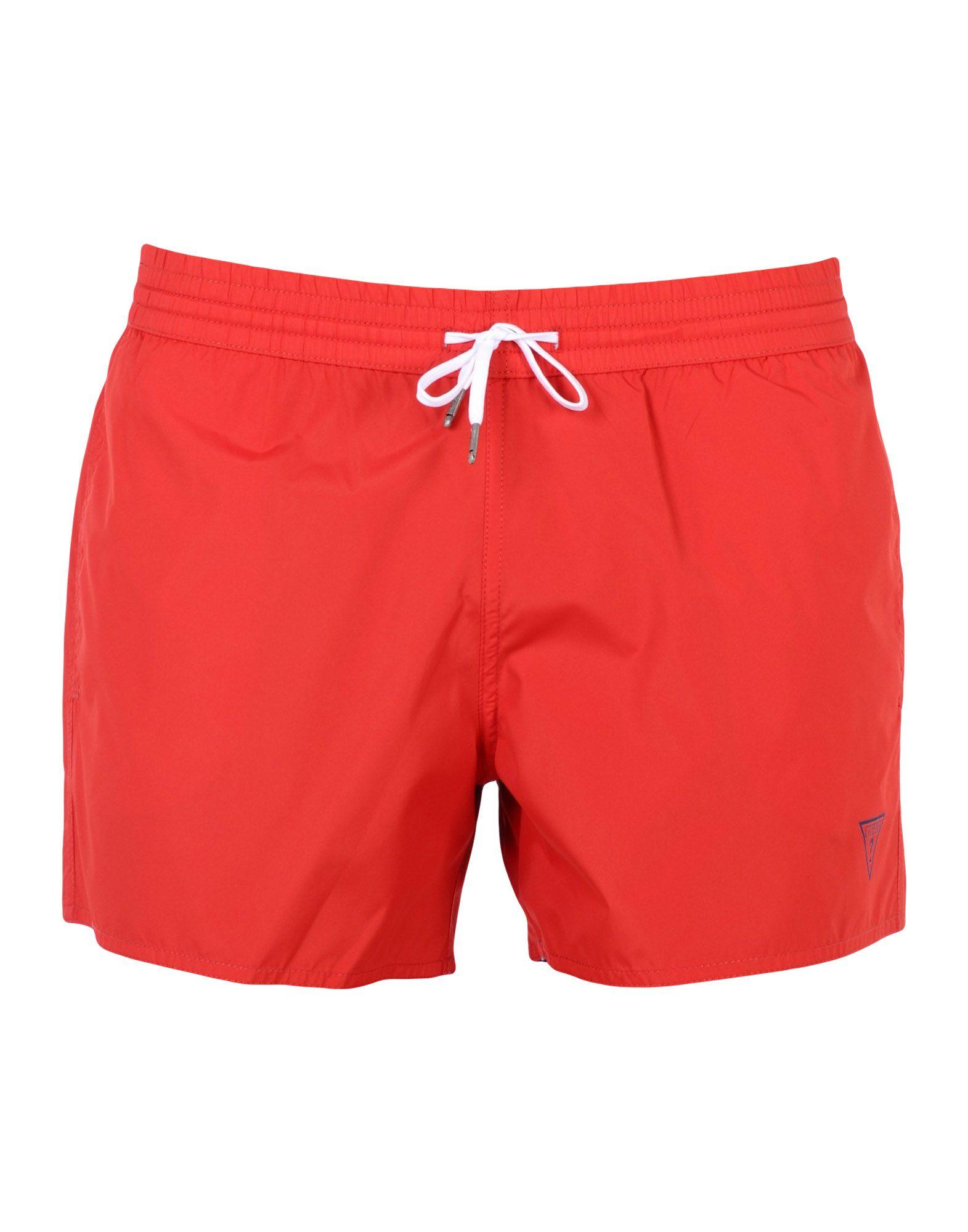 GUESS Пляжные брюки и шорты шорты guess шорты