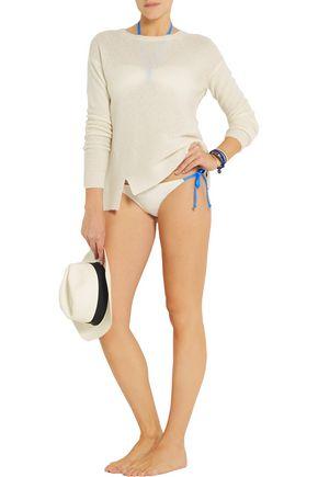 SOLID & STRIPED + Poppy Delevingne bandeau bikini