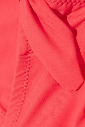 HEIDI KLEIN Sardinia bow-embellished underwired halterneck bikini top