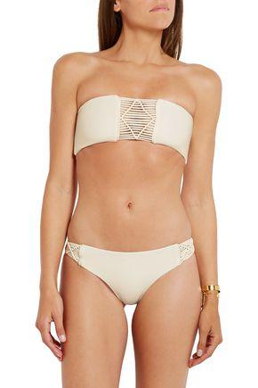MIKOH Cayman crocheted bikini briefs