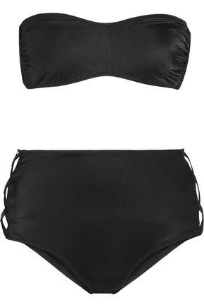 NORMA KAMALI X's cutout bandeau bikini