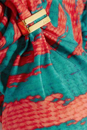 VIX Marmara printed bikini top