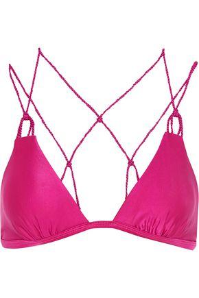 VIX Braided triangle bikini top