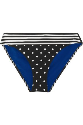 STELLA McCARTNEY Printed one-shoulder bikini