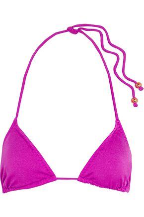 EBERJEY Beach Glow triangle bikini top