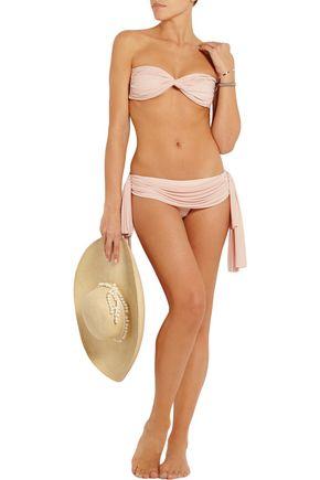 NORMA KAMALI Goddess bandeau bikini top