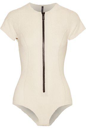 LISA MARIE FERNANDEZ Farrah cotton-blend terry swimsuit