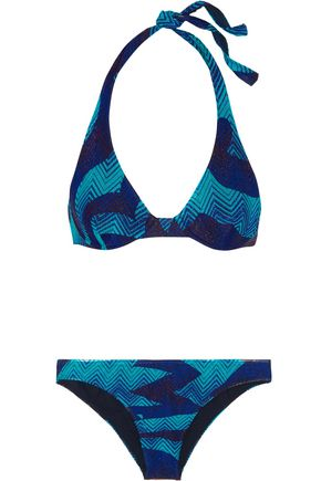 MISSONI Mare crochet-knit underwired bikini