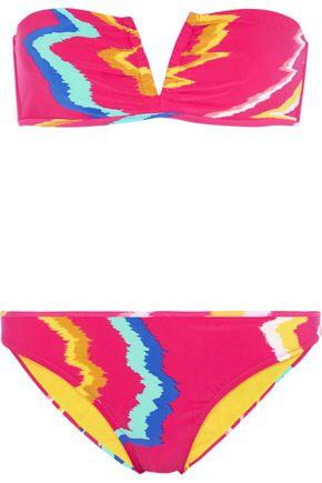 MISSONI Printed bandeau bikini