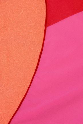 HEIDI KLUM SWIM Savannah Sunset low-rise color-block bikini briefs