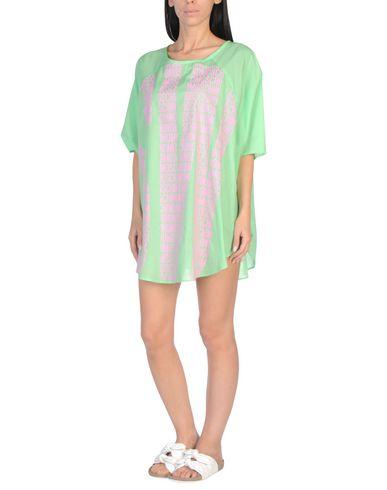 Купить Пляжное платье кислотно-зеленого цвета