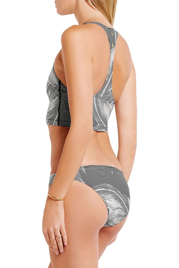 Valley Palms printed stretch-jersey bikini briefs   THE UPSIDE   Sale up to  70% off   THE OUTNET