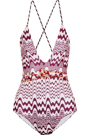 MISSONI Mare crochet-knit swimsuit