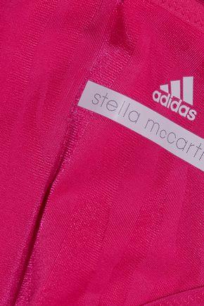 ADIDAS by STELLA McCARTNEY Mid-rise zebra-print bikini briefs