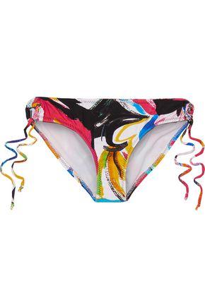 NORMA KAMALI Jason mid-rise printed bikini briefs