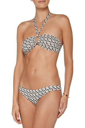 EBERJEY Cotton Blossom Valentina low-rise printed bikini briefs