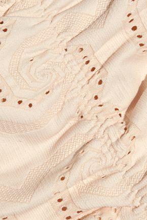EBERJEY Wandering Spirit Allie low-rise crochet-trimmed bikini briefs