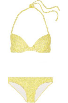 KENZO Printed underwired bikini