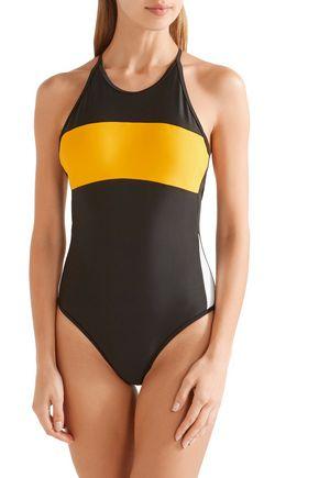 P.E NATION The Dream color-block swimsuit