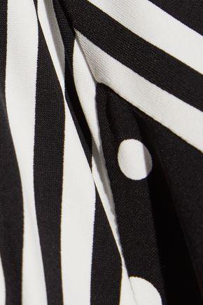 STELLA McCARTNEY Printed triangle bikini