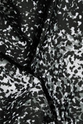 KENZO Printed bandeau bikini
