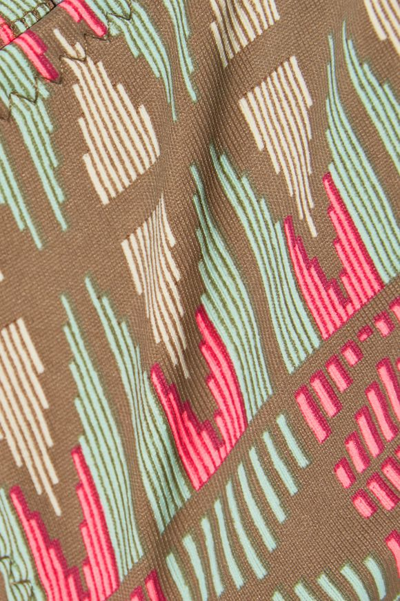 Geo Weave Eva low-rise printed bikini briefs | EBERJEY | Sale up to 70% off  | THE OUTNET