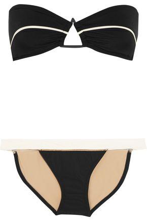 ZEUS + DIONE Daira embellished bandeau bikini