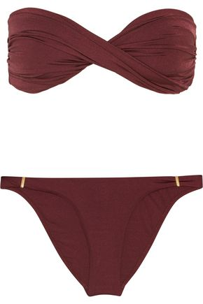 MELISSA ODABASH Martinique twisted bandeau bikini