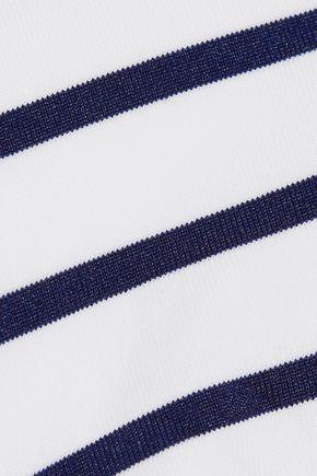 MELISSA ODABASH Key West striped triangle bikini