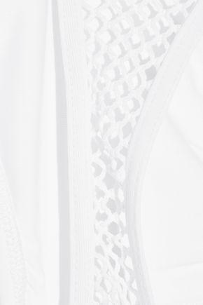 MELISSA ODABASH St Kitts mesh-trimmed bikini