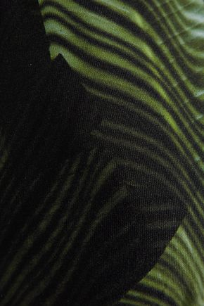 MELISSA ODABASH Capri printed triangle bikini