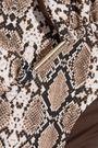 MELISSA ODABASH Capri snake-print triangle bikini