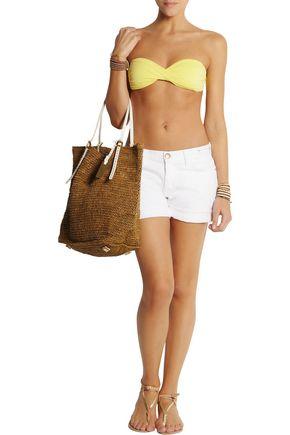 MELISSA ODABASH Martinique printed bandeau bikini