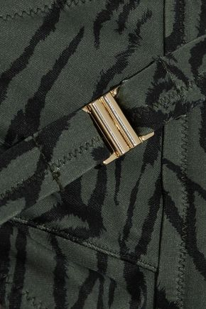 MELISSA ODABASH Laos printed triangle bikini