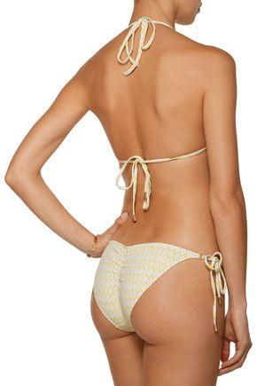 MELISSA ODABASH Portugal printed triangle bikini