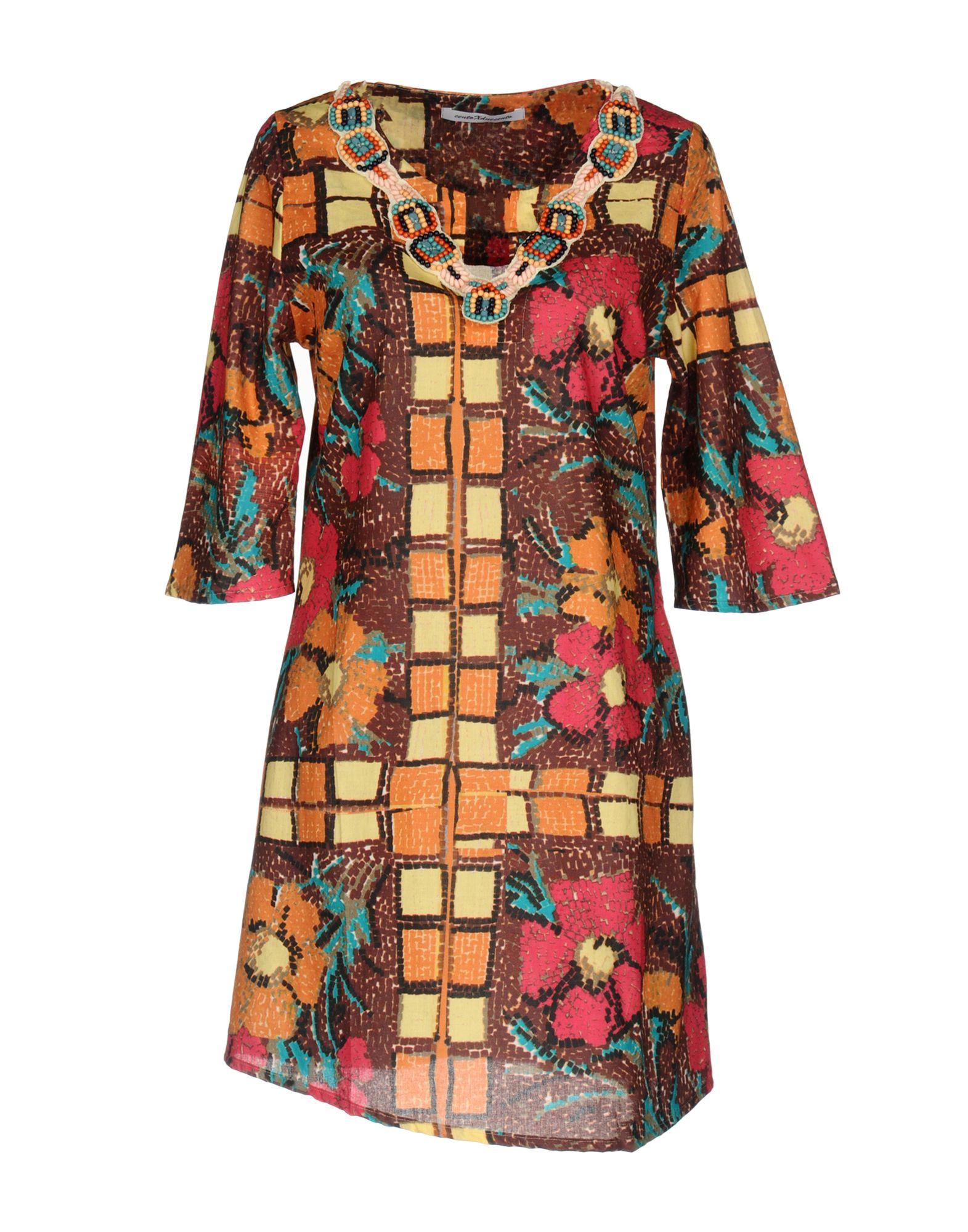 100X200 CENTOXDUECENTO Короткое платье 100x200 centoxduecento пляжное платье