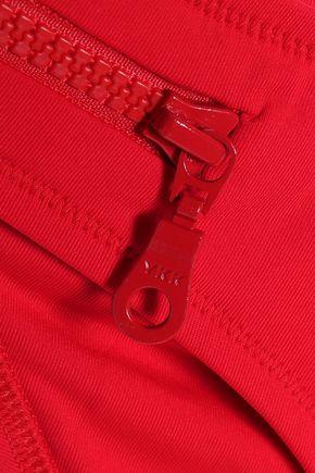 MELISSA ODABASH Zip-embellished bandeau bikini