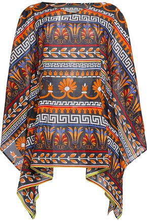 MARY KATRANTZOU Cotton-broadcloth kaftan