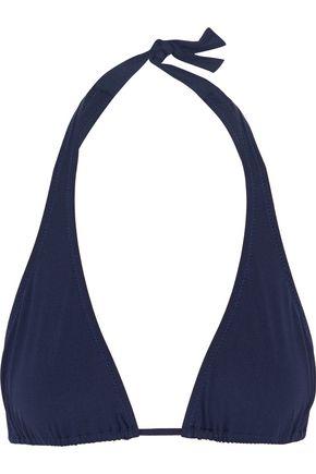MELISSA ODABASH Cannes halterneck triangle bikini top